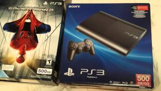 Sony Ps3 spider-man console bundle