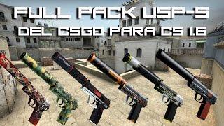 Full Pack USP-S Del CSGO Para CS 1.6 [ Terrorist Gloves ]