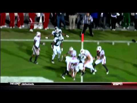 (HD) Michigan State HAIL MARY to win game vs Wisconsin