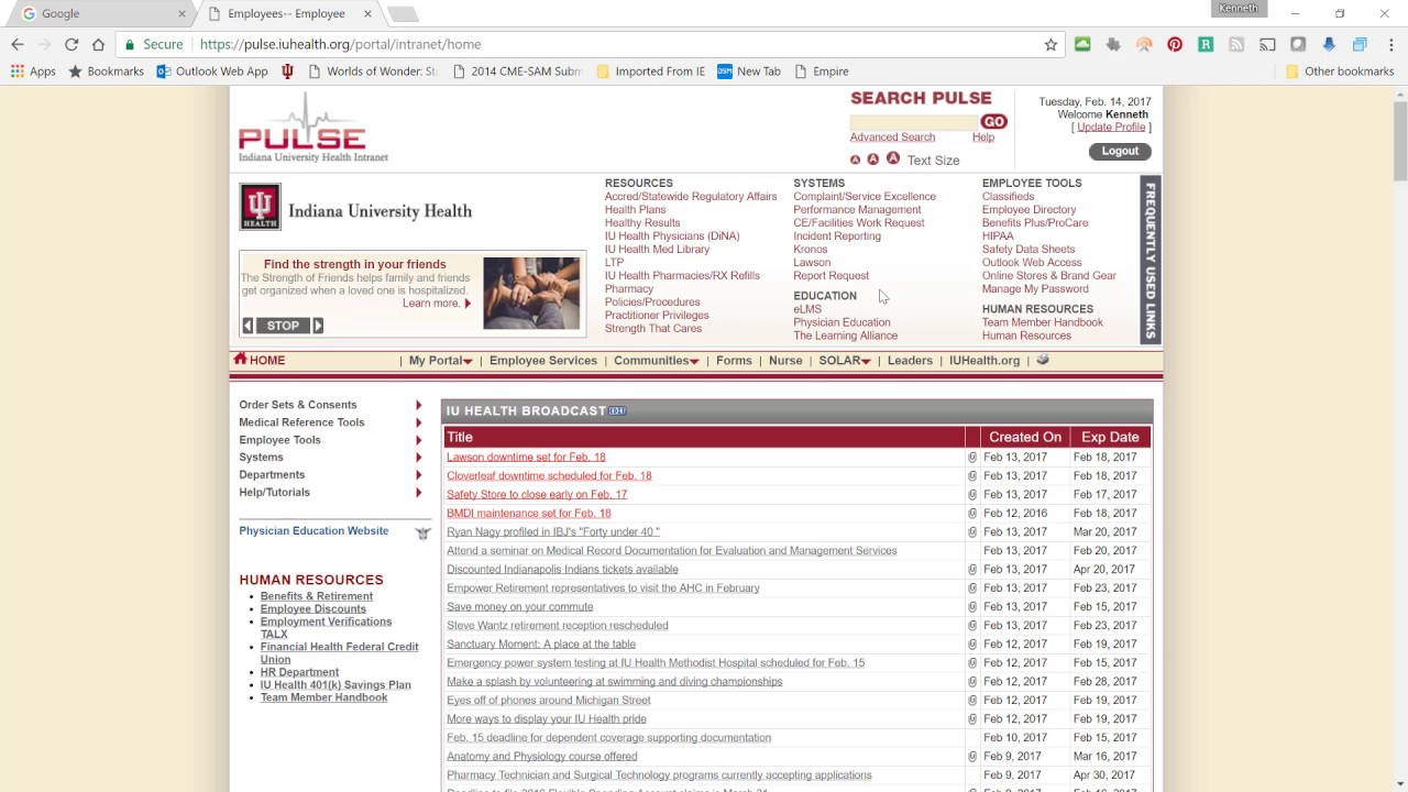 my iu health portal