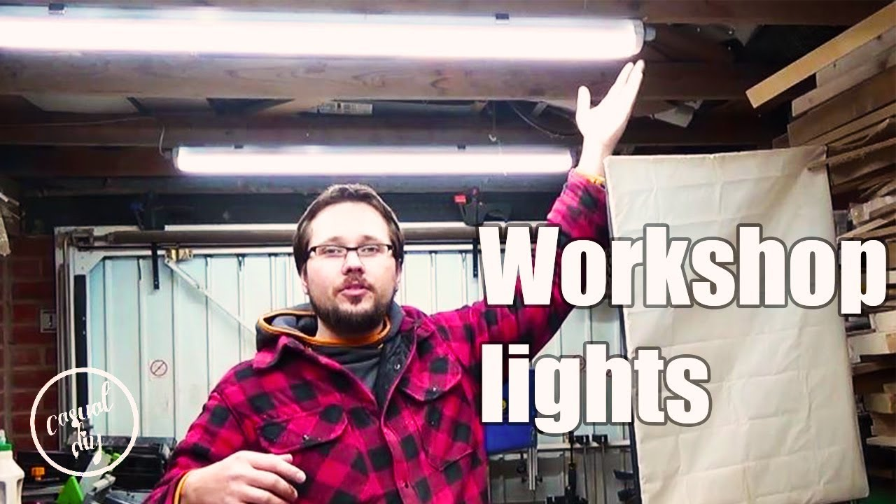 how to improve lighting in a workshop best youtube video recording lights in a workshop