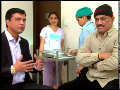 Celebrity Hair Transplant: Bollywood actor Shivaji Satam - Part 2