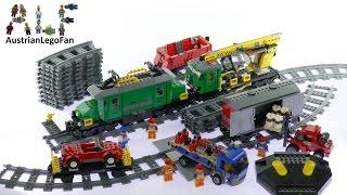 Lego City 7898 Cargo Train Deluxe - Lego Speed Build Review