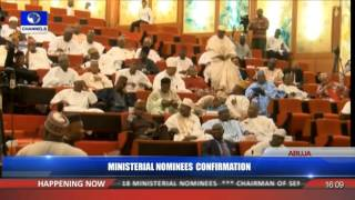 Ministerial Confirmation: Senate Confirms Amaechi, 17 Other Nominees Pt 6