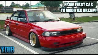 Proof You Can Modify Any Car! - Modified Toyota Corolla Story