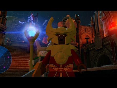 LEGO: Marvel's Avengers - MALEKITH'S SHIP, ARKON, LOKI'S CHARIOT, THOR, ODIN, LAUFEY