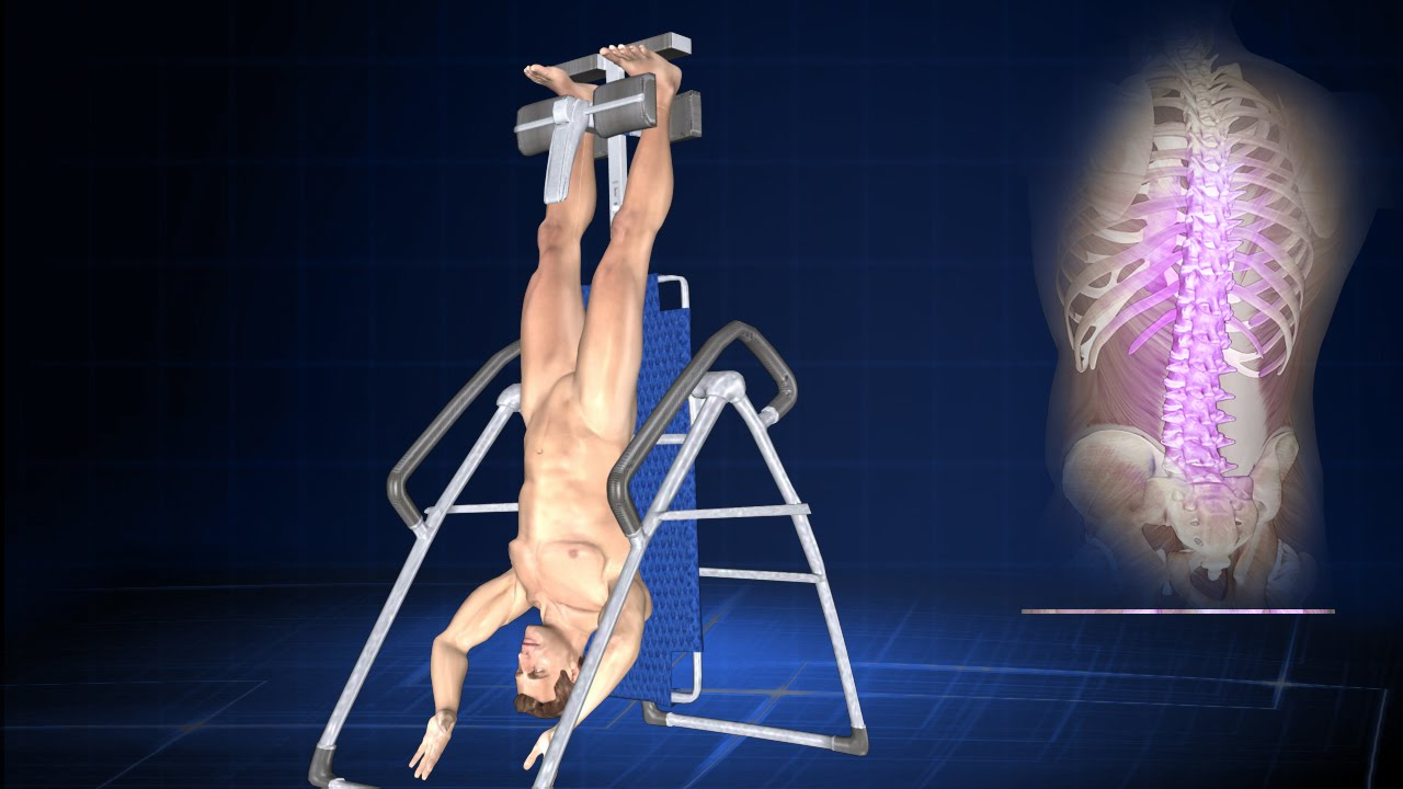 How Does Inversion Therapy or Hanging Upside Down Help ...