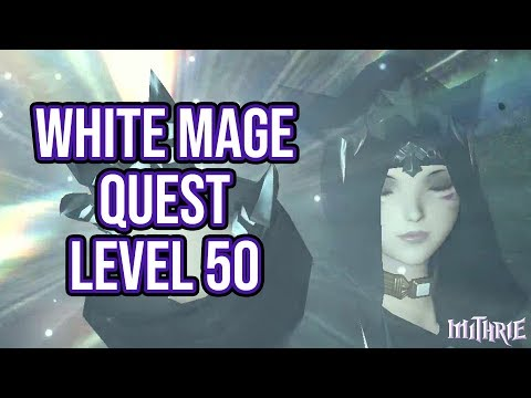 FFXIV 2.15 0249 White Mage Level 50 Quest + Artifact Gear - 동영상