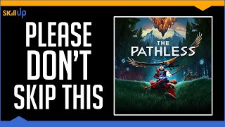If you liked Journey, Abzu, Gris or Ori, don't miss The Pathless (Review) (Video Game Video Review)