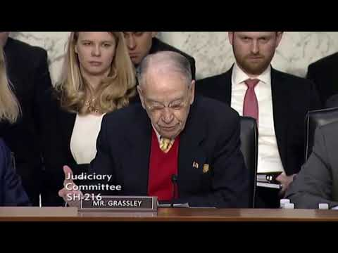 Chuck Grassley: Mueller Investigation Has Cost Taxpayers Billions 1/15/19