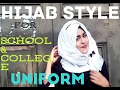 হিজাব স্টাইল-Back To school/work/college (with Uniform)-Part-1