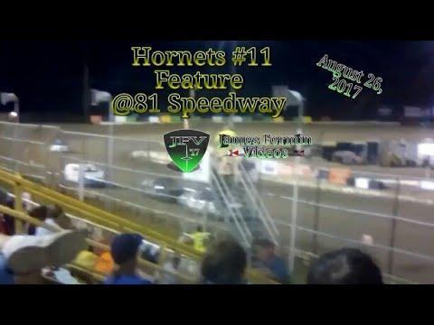 Hornets #14, Feature, 81 Speedway, 2017