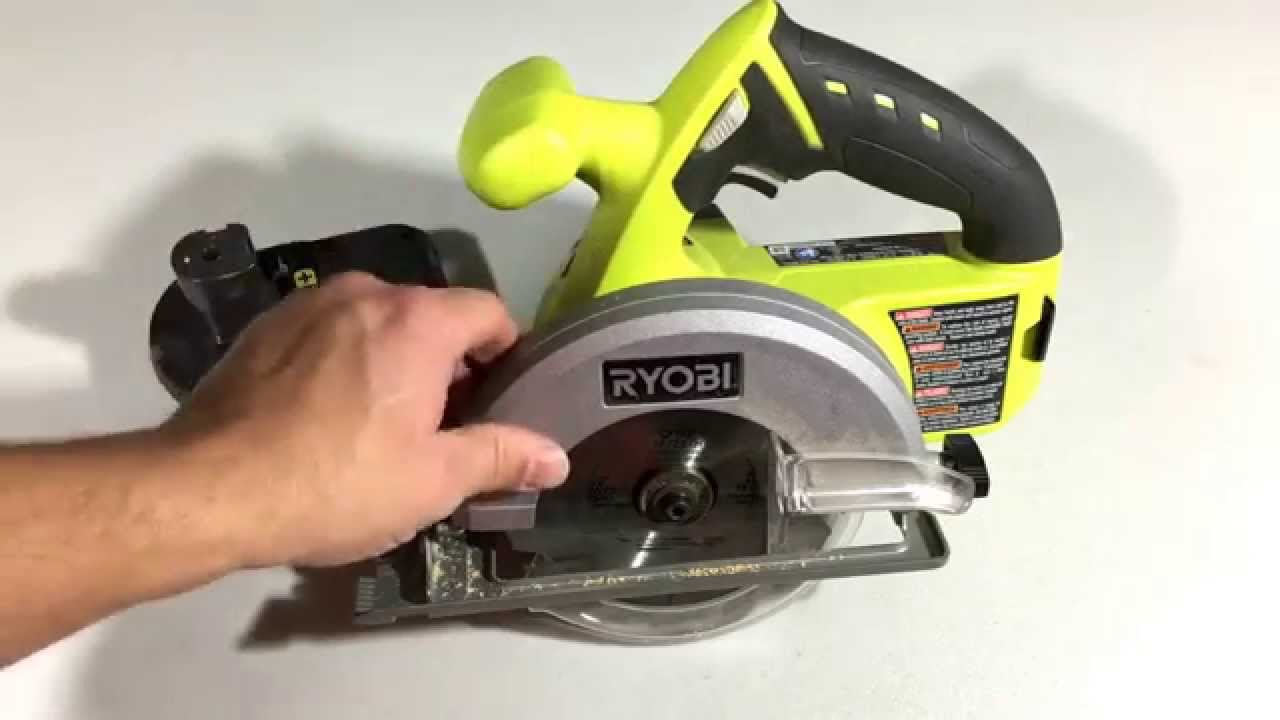 Ryobi 180v 5 12 one lithium ion circular saw product review ryobi 180v 5 12 one lithium ion circular saw product review youtube greentooth