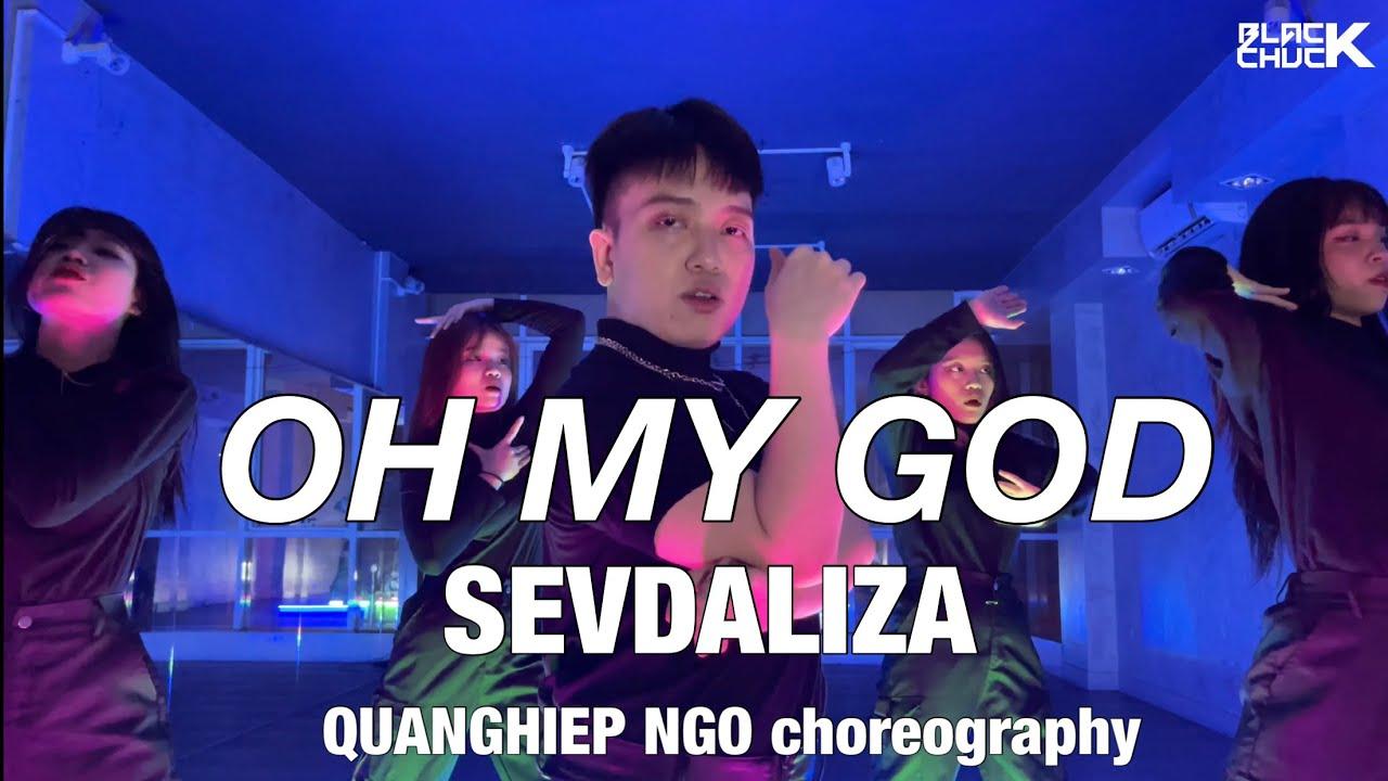 SEVDALIZA - OH MY GOD CHOREOGRAPHY by QUANGHIEP NGO | BLACK CHUCK from Vietnam