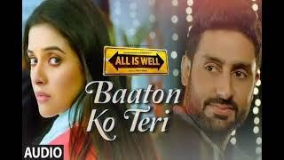 Baaton Ko Teri' Full AUDIO Song | Arijit Singh | Abhishek Bachchan, Asin |