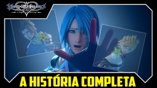 A História Completa de Kingdom Hearts: 0.2 Birth by Sleep - A fragmentary passage -