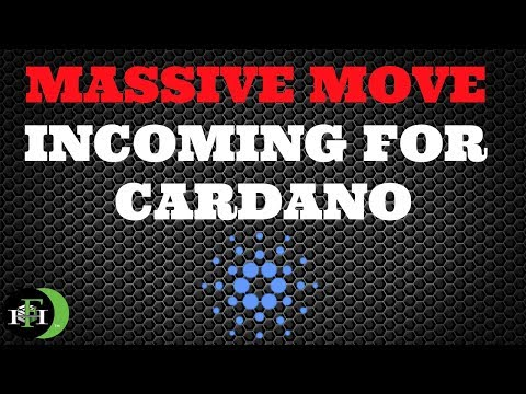 Cardano ADA - Massive Move Incoming For Cardano (Must Watch)