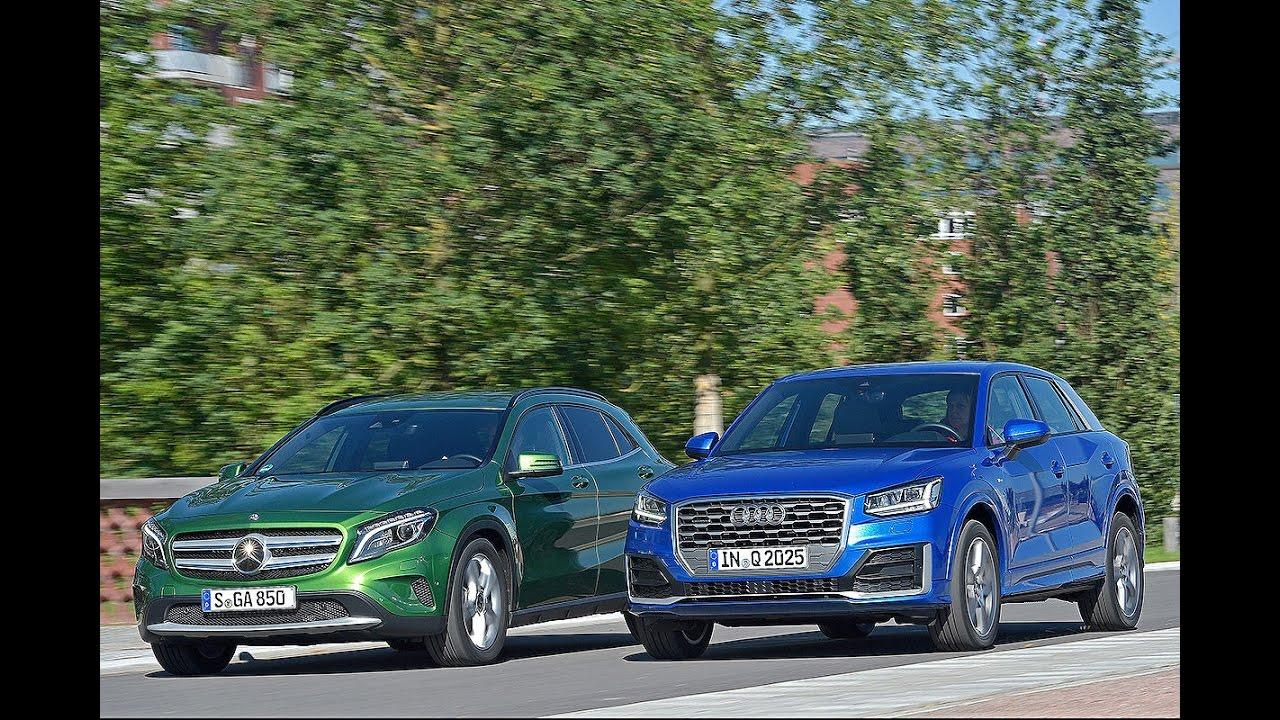 Audi Vs Mercedes >> Audi Q2 vs Mercedes GLA - YouTube