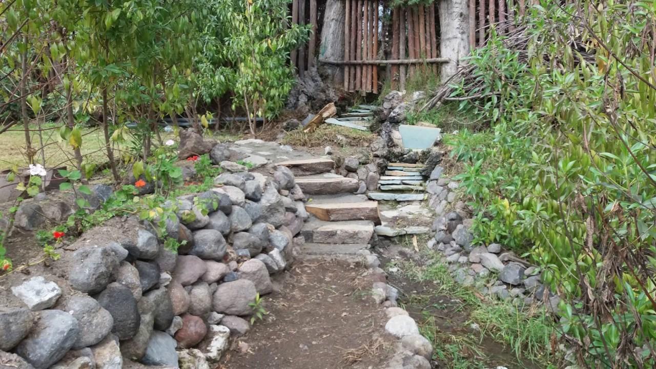 El jard n de la fantas a senderos y caminos rusticos carmen alto youtube - Construir casa en terreno rustico ...