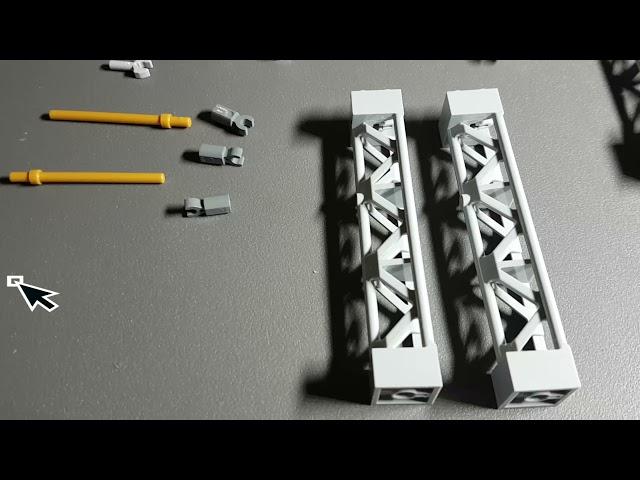 Wir bauen eine Lego Oberleitung für die Eisenbahn