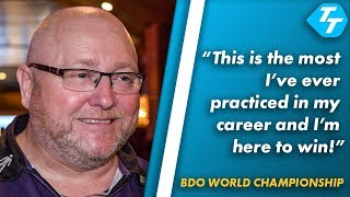 Andy Hamilton on BDO Worlds Preparation PLUS thoughts on venue |