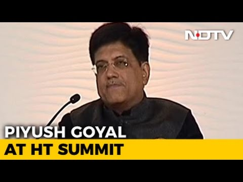 India Wants Disruptive Change: Minister Piyush Goyal On Notes Ban