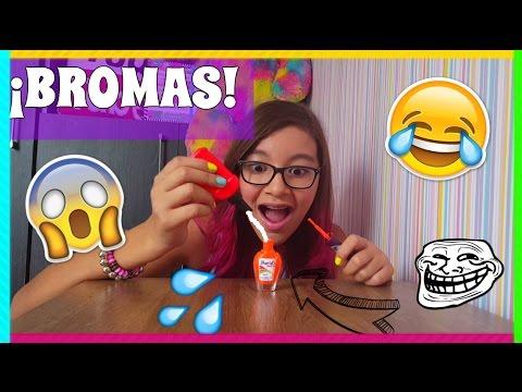 ¡10 BROMAS DIVERTIDAS PARA HACERLE A TUS AMIGOS! ♥ Lulu99