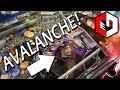 AVALANCHE! Winning TONS of Cards at Star Trek Coin Pusher Arcade Game