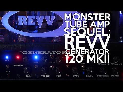 Monster Tube Amp Sequel:  Revv Generator 120 MKII | SpectreSoundStudios  DEMO