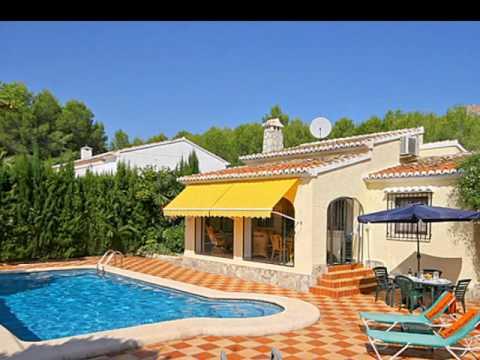 Location Espagne Javea Villa Avec Piscine - Youtube
