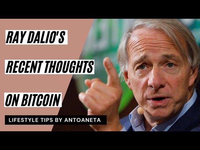 RAY DALIO: Bitcoin Has Proven Itself (Buy Sell Crypto Currencies)