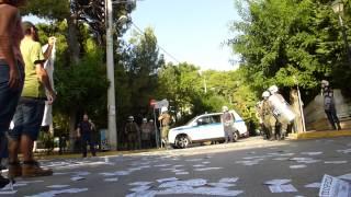 Παρέμβαση στο σπίτι του Σαμαρά ενάντια στις φυλακές υψίστης ασφαλείας