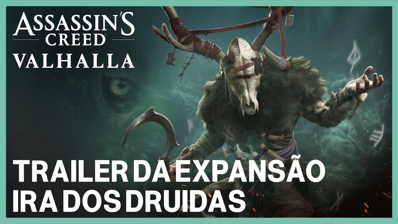 Assassin's Creed Valhalla: Trailer de expansão - Ira dos Druidas | Ubisoft
