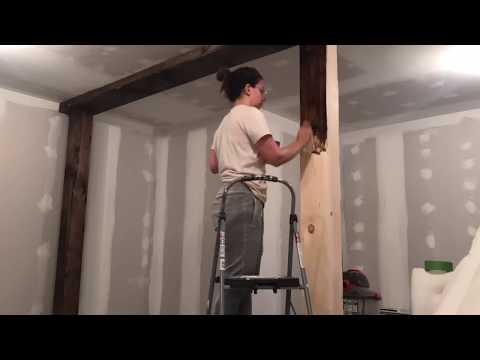 DIY Wood Beams - How To Make New Wood Look Old