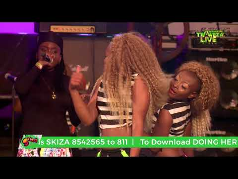 Fena - She Doing Her Thing Tho #TwawezaLive Mombasa