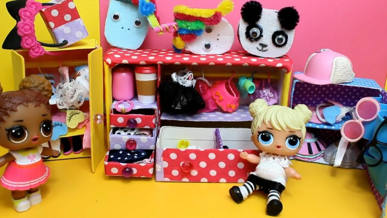 Как сделать шкаф для куклы своими руками в домашних условиях фото 525
