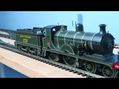 Three steam from dad, scratch and kit built OO locos
