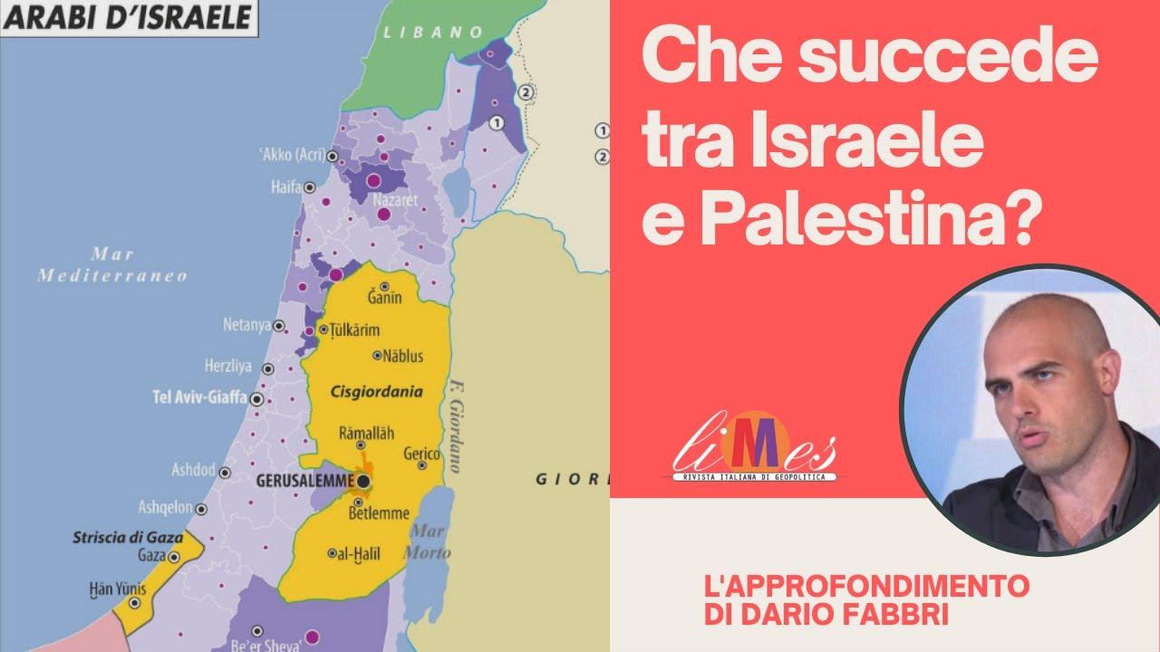 Israele Palestina Cartina.Che Succede Tra Israele E Palestina Youtube