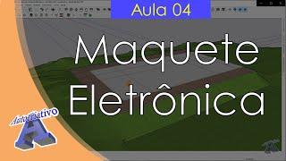 Curso de Maquete Eletrônica com SketchUp - Aula 04/50 Planta Baixa - Autocriativo