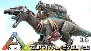 ark survival evolved epic tek spino boss tame spinebreaker e16 modded ark pugnacia dinos