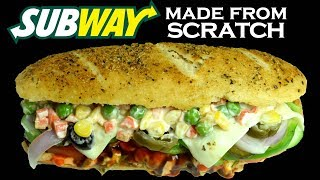 How to make SUBWAY Sandwich at home from scratch|Parmesan Oregano bread |Corn and peas| yummylicious