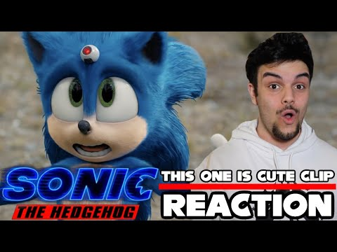 Sonic The Hedgehog Movie (2020) This One Is Cute Clip (Reaction)