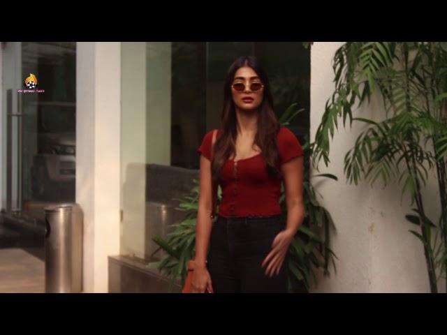 Pooja Hegde spotted at sunny super sound juhu