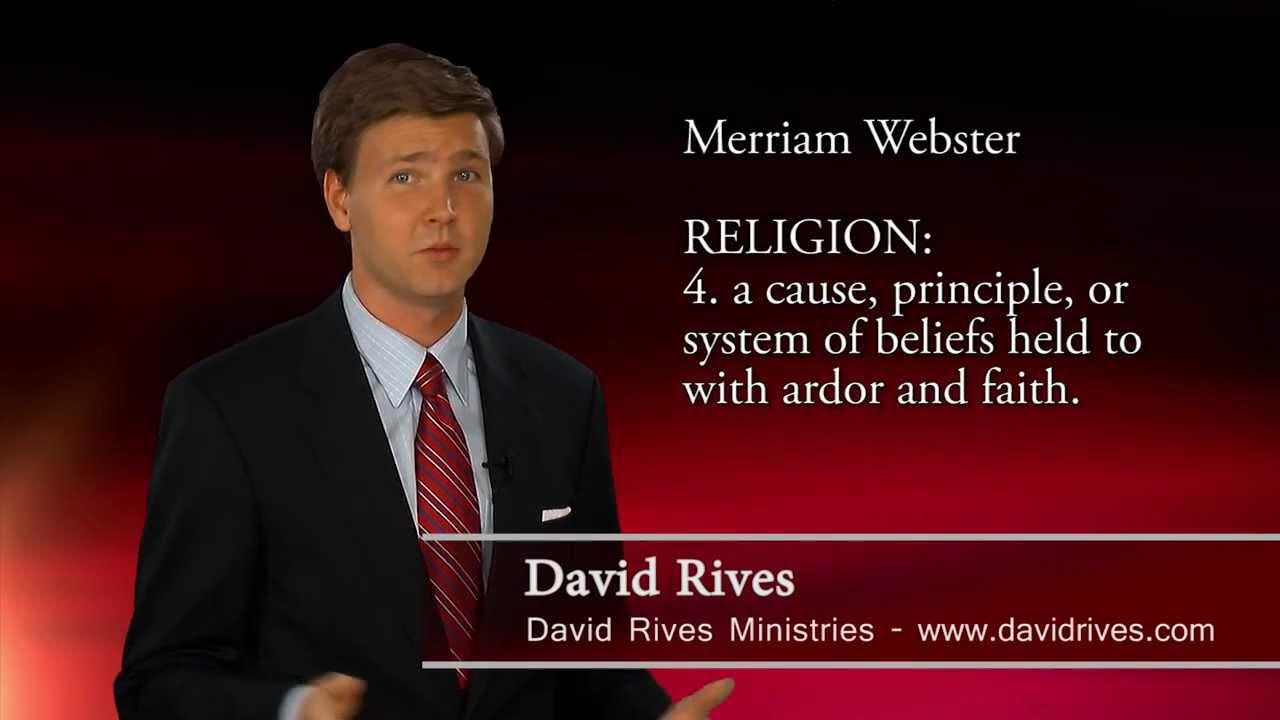 is evolution science or religion david rives or religion david rives