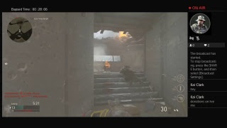 Playing Call Of Duty World War 2 {PS4 Stream}