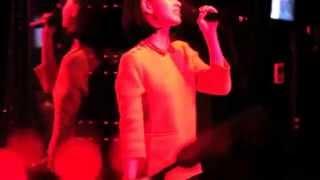 Kiko Mizuhara dining and dancing fun.