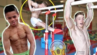 ONLY GYMNASTS ARE STRONG ENOUGH TO DO THIS!?