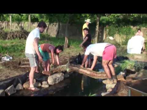 Bora construir um lago youtube for Como construir un lago artificial