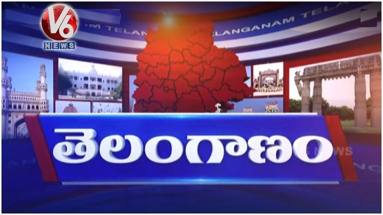 MJ Market Reopens | Rains In Telangana | Vemulawada Rajarajeshwari Temple | V6 Telanganam News