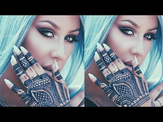 Henna Tattoo Tutorial : Get a henna tattoo